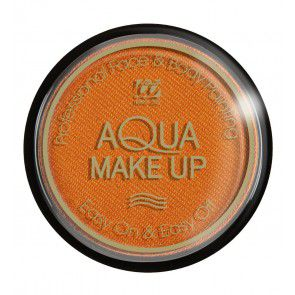Aqua make-up 15 gram, metallic oranje