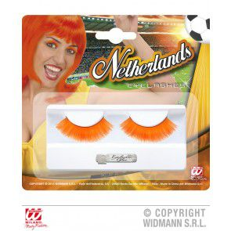 Oogwimpers oranje