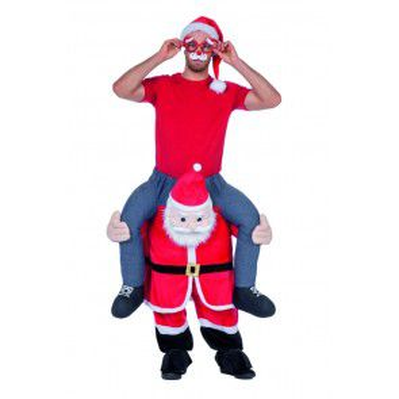 Man op Kerstman
