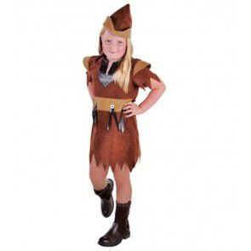 Robin meisje bruin