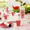 12pcs pack colorful polka dots paper plates for birthday party wedding party baby shower 4