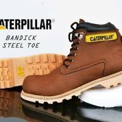 Caterpillar Safety Besi Boot Brown (10038421) di Kota Bandung