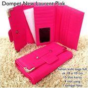 dompet wanita laacoste new laaurent pink (10042957) di Kota Bekasi