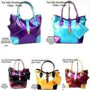 tas wanita casual kombinasi jelly key tali panjang (10043027) di Kota Bekasi
