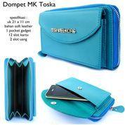 dompet wanita hpo 1hp max 5,8 inch micchael kors leather suede tozka (10043077) di Kota Bekasi