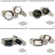 jam tangan pasangan couple ck-stainless pasir (10044237) di Kota Bekasi