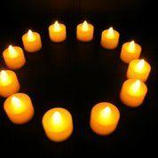 Candel Light Tinggi 4,5 Cm Lilin Led Kelap Kelip Lilin Led Lilin Elektrik (10297497) di Kota Bandung