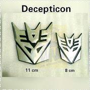 Emblem Decepticon Besar 11 cm (10459621) di Kota Jakarta Barat