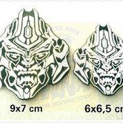 Emblem Transformer Decepticon Besar 9x7 cm bahan Besi (10459793) di Kota Jakarta Barat