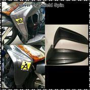 Cover Leg Shield Carbon Hitam Suzuki Spin Thailand (10459797) di Kota Jakarta Barat