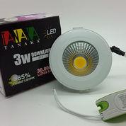 Lampu Ceiling Downlight LED COB 3 watt ( cahaya Warm White ) (10509151) di Kota Jakarta Barat