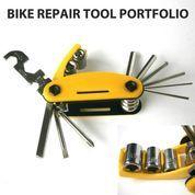 TOOL KIT SEPEDA ( Bike Repair Tools Portfolio ) 14 in 1 (10509247) di Kota Jakarta Barat