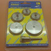 Rotary Saw Blade Kit ( Mata Tuner Gergaji ) 6 Pcs Set KLEBER (10509257) di Kota Jakarta Barat