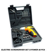 Electric Screwdriver Set X-Power 45 Pcs (10509267) di Kota Jakarta Barat