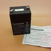 ASLI baterai aki kering 6v 4.5Ah Merk PANASONIC ASLI / aki / accu (10509299) di Kota Jakarta Barat