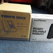 Telepon satelit Inmarsat Isatdock2 untuk di lautan dan daratan