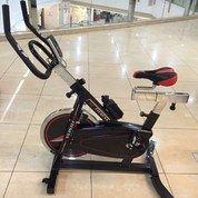 sepeda statis spinning bike platinum new Hitam