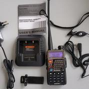 Radio HT walkie talkie dual band BAOFENG UV-5RE PLUS (10639453) di Kota Jakarta Pusat