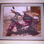Lukisan Motor Grombyong (10715161) di Kota Yogyakarta