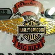 Emblem harley davidson buat motor , helm , mobil (10733409) di Kab. Bandung