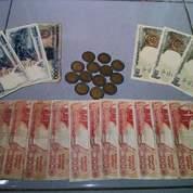 Uang rupiah kuno uang rupiah langka uang rupiah lama uang rupiah koleksi kolektor asli 100% baru bersih rapih pecahan logam & kertas (10791609) di Kota Jakarta Selatan