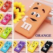 M&M Rubber Case Iphone 6 6s (10856397) di Kota Jakarta Pusat