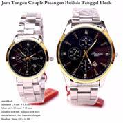 Jam Tangan Couple Ruilida Tanggal Original Stainless Black (10923083) di Kota Jakarta Pusat