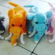 """Boneka Gajah Kirei Dengan Belalai & Gading / Elephant Kirei Doll 12"""" Inchi Kurleb 31cm (10934403) di Kota Jakarta Selatan"""