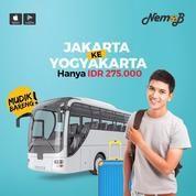 TIKET BUS MUDIK LEBARAN MURAH JAKARTA-JOGJA JAKARTA-YOGYAKARTA DI NEMOB (11052967) di Kota Jakarta Utara