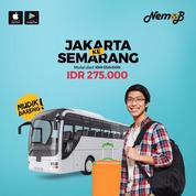 TIKET BUS MUDIK LEBARAN MURAH JAKARTA-SEMARANG DI NEMOB.ID (11053001) di Kota Jakarta Utara