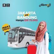 TIKET BUS MUDIK MURAH JAKARTA-BANDUNG DI NEMOB (11068401) di Kota Jakarta Utara
