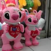 Boneka Stitch Standing With Love / Berdiri Dengan Hati Ukuran L Kurleb 60 Cm M Kurleb 50 Cm Grosir Min Order 3 Lebih Murah (11133227) di Kota Jakarta Selatan