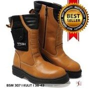 Sepatu Safety Boots / Sepatu Proyek / Sepatu Kerja Lapangan / Sepatu Kulit