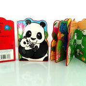 Buku Impor Cerita Anak Boardbook Murah Snappy Friends Animal Babies (Panda)