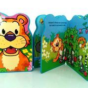 Buku Boardbook Impor Murah Snappy Friends In The Jungle Lion