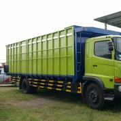Hino FG 235 JS Truck Bak Long Chasis
