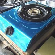 Kompor Gas 1 Tungku Bahan Steanlees 1 Set Siap Kirim Free Pemasangan (11378465) di Kab. Sidoarjo