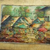 Lukisan Motip Pasar (11442935) di Kota Jakarta Barat