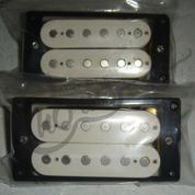 Pickup Gitar Elektrik Double Coil Humbucker Lp209 White