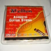 Senar Gitar Akustik String Wellton 0.11