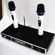 Microphone Wireless 866D (11534423) di Kota Jakarta Selatan