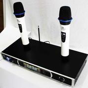 MICROPHONE WIRELESS Fungsi Selain Untuk KARAOKE Pada System Karaoke (11537711) di Kota Jakarta Selatan