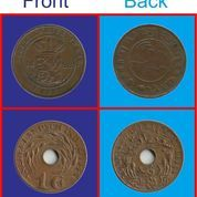 Uang Coin Nederlanchd Indie Tahun 1898 & 1945