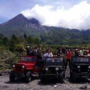 Paket Sunrise Jeep Merapi Lava Tour
