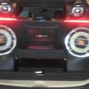 Custum Box Audio Mobil Pajero Sport