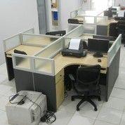 Meja Sekat Kantor Bahan Multiplek HPL (11814955) di Kota Palangkaraya