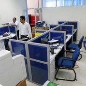 Meja Sekat Kantor Knockdown System Bongkar Pasang (11815003) di Kota Jakarta Pusat