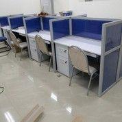 Cubicle Workstation Plywood Material (11815025) di Kota Surabaya