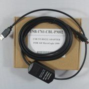 USB 1761-CBL-PM02 Cable For AB MicroLogix 1000 1200 1500 PLC PB15