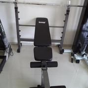 Alat Fitness Home Gym Bench Press Multifungsi